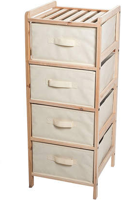 LAVISH HOME Lavish HomeTM 4-Drawer Organization Unit