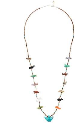 Jessie Western animal beaded necklace