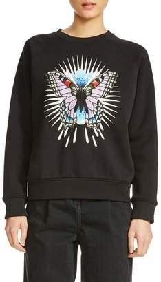 Maje Butterfly Sweatshirt