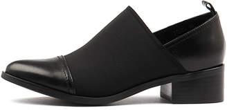 Django & Juliette Ponto Black-black Shoes Womens Shoes Casual Flat Shoes