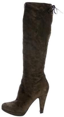 Alaia Knee-High Platform Boots