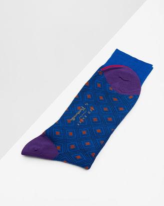 Geo diamond socks $35 thestylecure.com