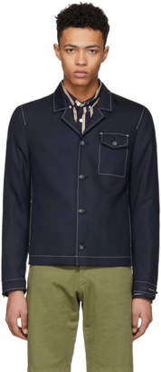 Tiger of Sweden Navy Banista Blazer