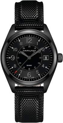 Hamilton Khaki Field Silicone Strap Watch, 40mm
