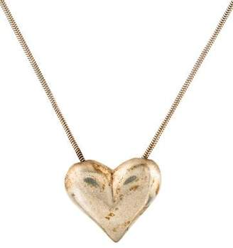 Tiffany & Co. Puffed Heart Pendant Necklace
