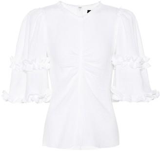 Isabel Marant Cleavon cotton top