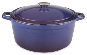 Berghoff Neo 5-Quart Cast Iron Casserole & Cover
