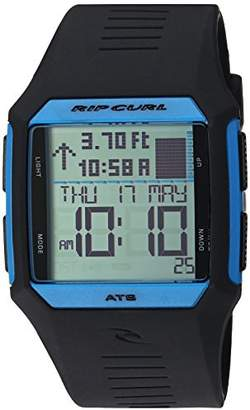 Rip Curl Men's 'Rifles' Quartz Plastic and Polyurethane Sport Watch