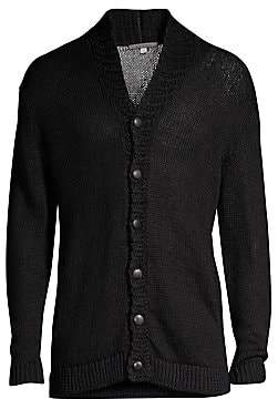 John Varvatos Men's Shawl Collar Cardigan