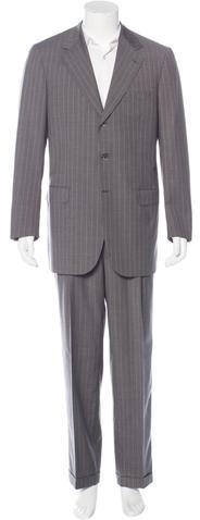 BrioniBrioni Nomentano Striped Wool Suit