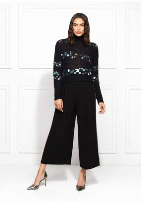 Rachel Zoe Briana Paillette Embellished Turtleneck Sweater