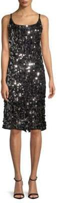 Milly Sequin Sheath Dress