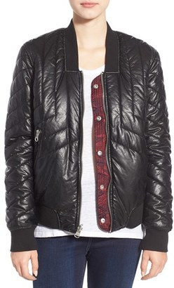 Women's Blanknyc Reversible Quilted Jacket $138 thestylecure.com