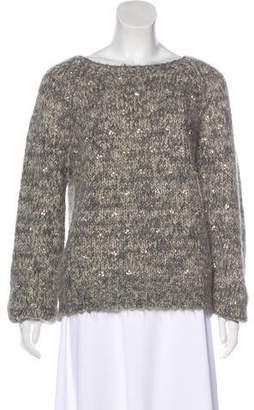 Dries Van Noten Alpaca Embellished Sweater