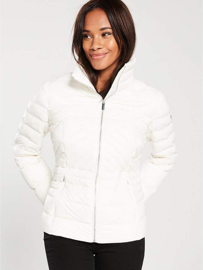Short Packable Padded Jacket - Ivory