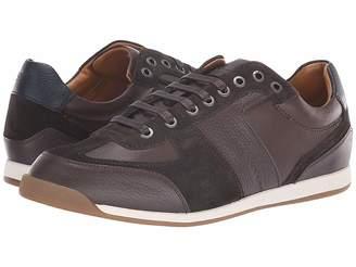 HUGO BOSS Maze Sneaker in Leather Suede by BOSS Green