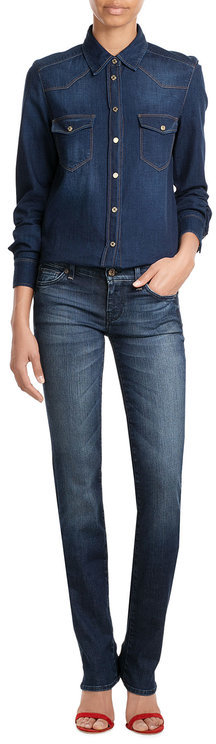 7 For All MankindSeven for all Mankind Slim Straight Leg Jeans