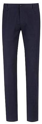 HUGO BOSS Extra-slim-fit virgin-wool trousers with textured structure