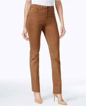 Style&Co. Style & Co Petite Tummy-Control Straight-Leg Jeans, Created for Macy's