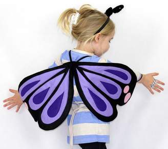 Butterfly Wings & Hair Band Costume Set