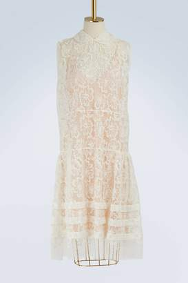 Miu Miu Floral lace dress