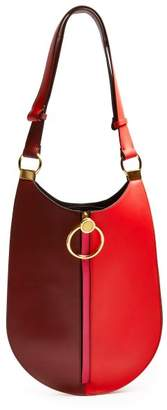 Marni Earring Leather Shoulder Bag - Womens - Red Multi