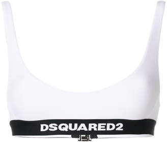 DSQUARED2 logo band bikini briefs