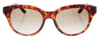 Stella McCartney Round Tortoiseshell Sunglasses
