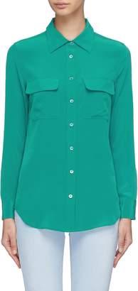 Equipment 'Slim Signature' silk crepe shirt