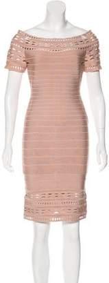 Herve Leger Carmen Cutout Dress