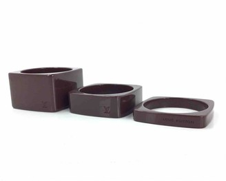 Louis Vuitton Brown Plastic Bracelets