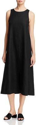 Eileen Fisher Sleeveless Organic Linen Dress $338 thestylecure.com