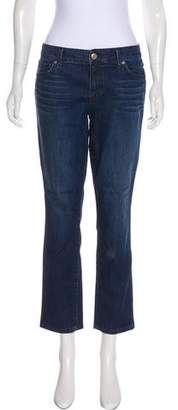 Level 99 Mid-Rise Straight-Leg Jeans