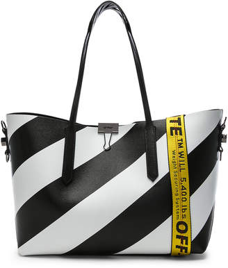 Off-White Off White Diagonal Tote