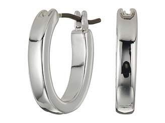 Lauren Ralph Lauren Small Oval Hoop Earrings