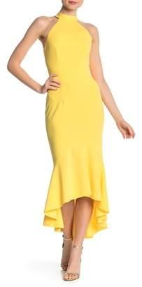 Marina Solid Hi-Lo Dress