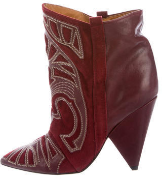 Isabel MarantIsabel Marant Berry Embroidered Ankle Boots