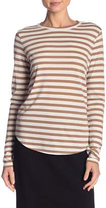 Vince Little Boy Crew Neck Stripe Shirt
