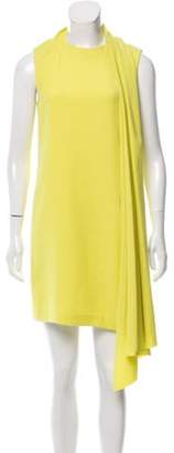 Alexander Wang Draped Shift Dress w/ Tags Chartreuse Draped Shift Dress w/ Tags