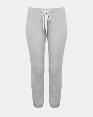 Theory Cotton Terry Slim Sweatpant
