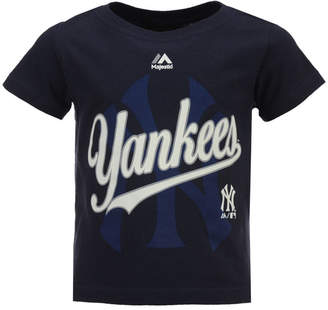 Majestic New York Yankees The Game Cotton T-Shirt, Toddler Boys (2T-4T)