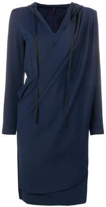 DAY Birger et Mikkelsen Unravel Project wrap hoodie dress