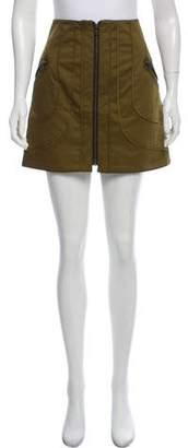 Veronica Beard Zip-Up Mini Skirt w/ Tags