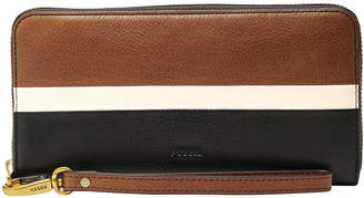 Fossil Sl7691994 Emma RFID Zip Around Wallet
