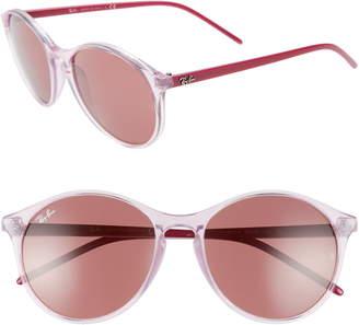 51e373085 Ray-Ban Highstreet 55mm Round Sunglasses