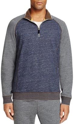 Robert Graham Stefano Color Block Sweatshirt $198 thestylecure.com