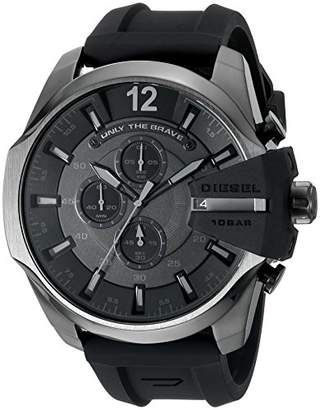 Diesel Men's Chief Series' Quartz Stainless Steel and Silicone Casual Watch