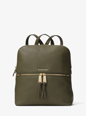 4eb5c170872b61 MICHAEL Michael Kors Rhea Medium Slim Leather Backpack