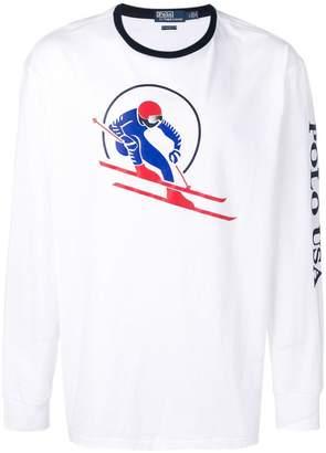 Polo Ralph Lauren ski print T-shirt