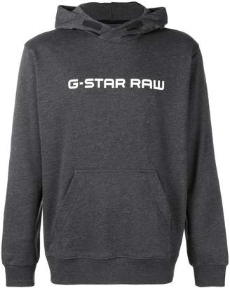 G Star Research logo printed hoodie